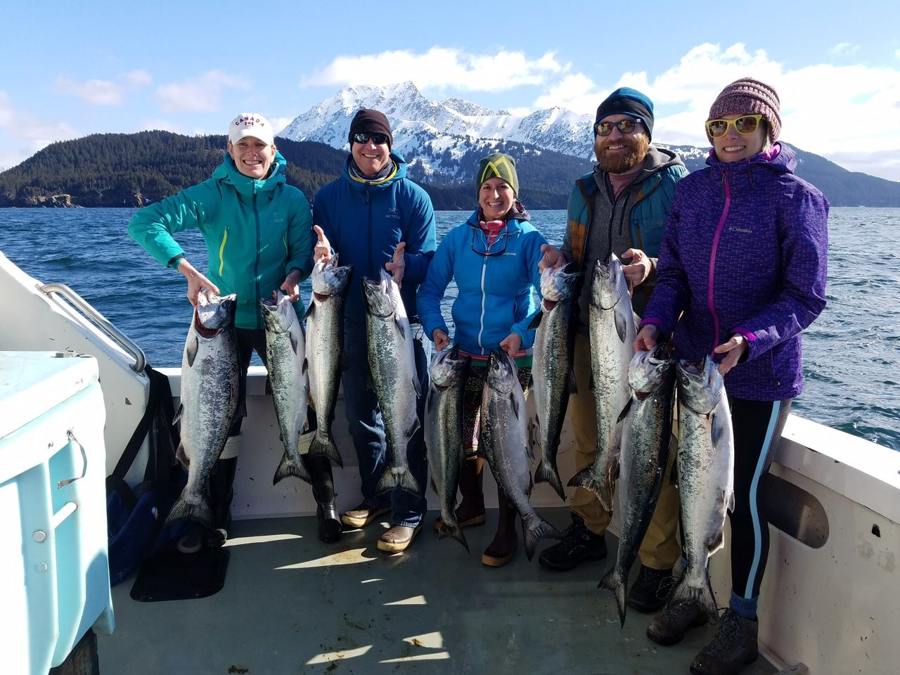 salmon fishing homer alaska